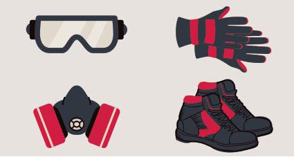 lunettes-masque-gants-chaussures-securite
